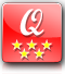 object quality: 5 stars (the number of stars indicates the quality of the object based on the furniture, equipment, services and on our personal taste)