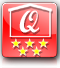 house quality: 5 stars (the number of stars indicates the quality of the house based on the position, equipment, services and on our personal taste)