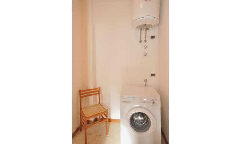 appartamenti MILLENIUM: lavatrice