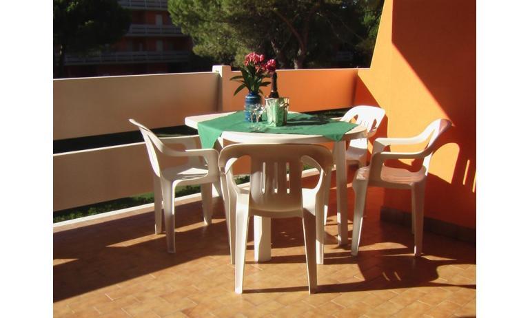 appartamenti ATOLLO: balcone (esempio)