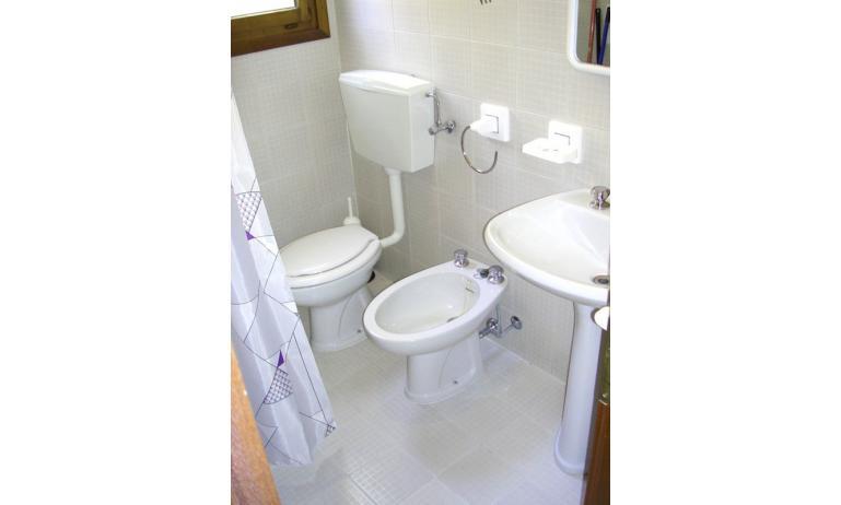 appartamenti VEGA: bagno (esempio)