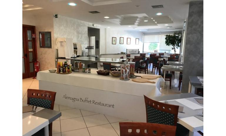 hotel ALEMAGNA: sala ristorante