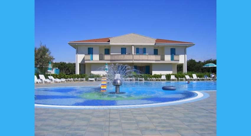 external view with pool