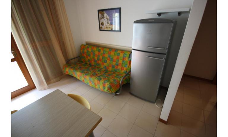 appartamenti CAMPIELLO: B4 - divano letto doppio (esempio)