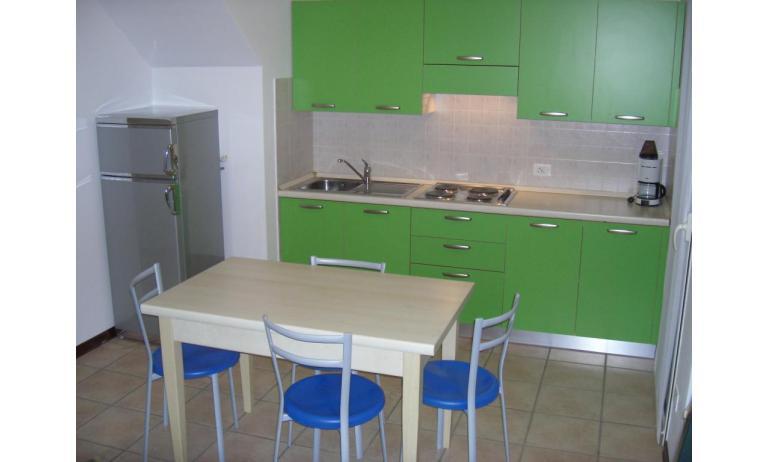 Residence GIRASOLI: C7 - Kochnische (Beispiel)