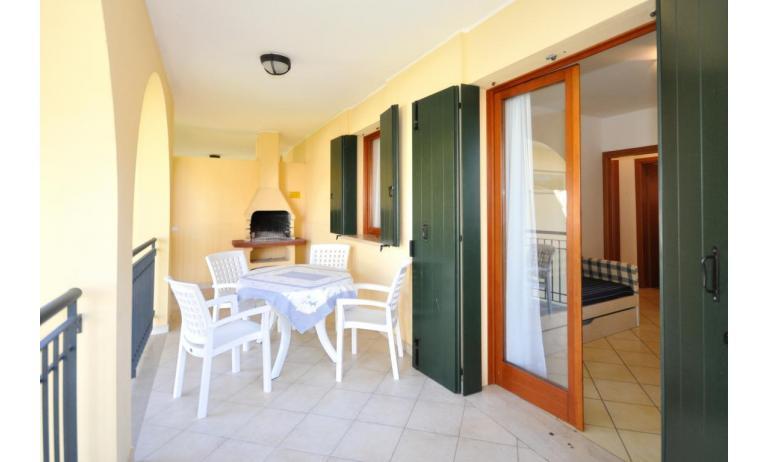 appartamenti ORCHIDEA: C6 - balcone (esempio)