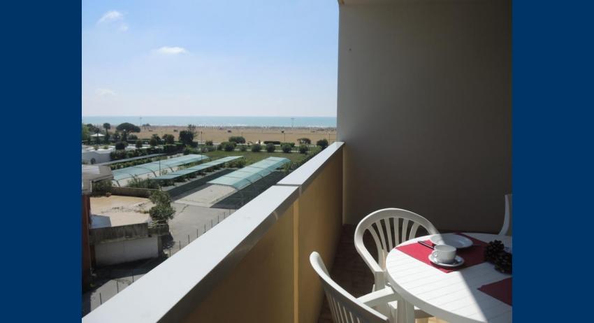 B6* - sea view balcony (example)