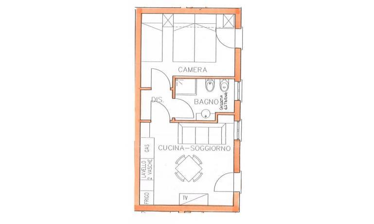 residence TULIPANO: B4 - planimetria