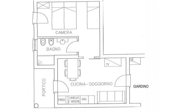 residence TULIPANO: B5 - planimetria