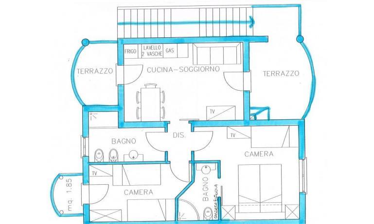 residence TULIPANO: C6 - planimetria