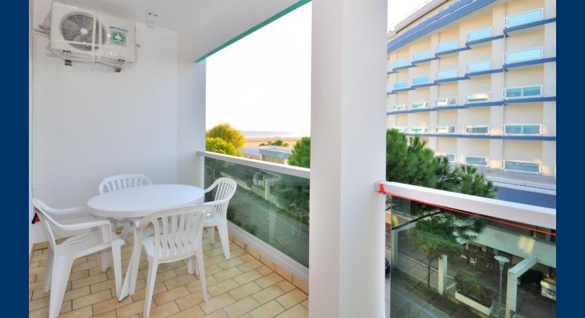 B4 - balcon avec vue mer (exemple)