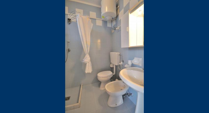 B4 - salle de bain avec rideau de douche (exemple)