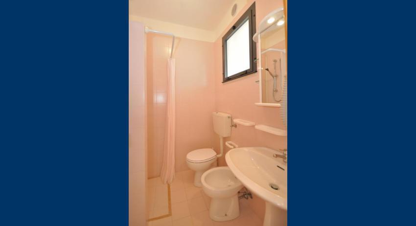 C5 - salle de bain avec rideau de douche (exemple)