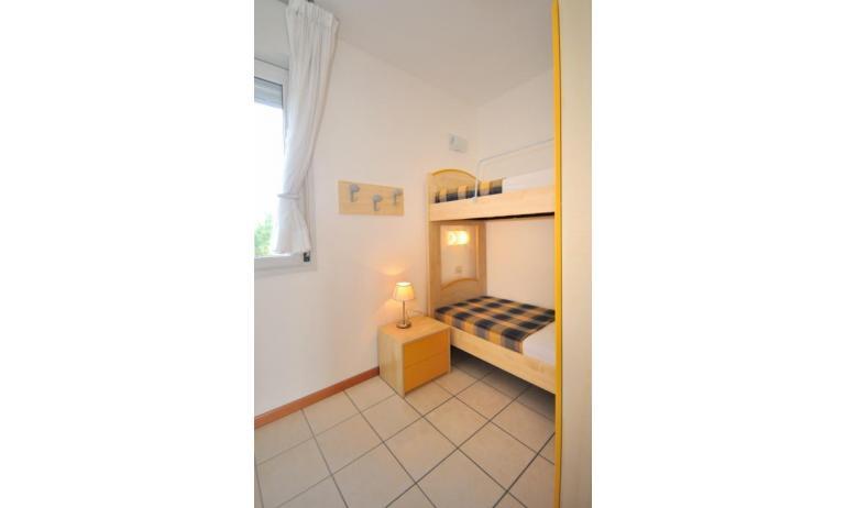 appartamenti MARA: C6 - camera con letto a castello (esempio)