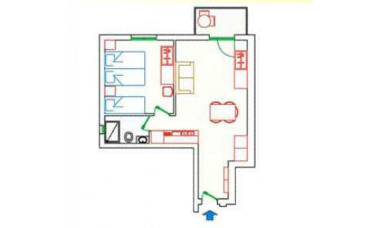 residence KATJA: B5 - planimetria