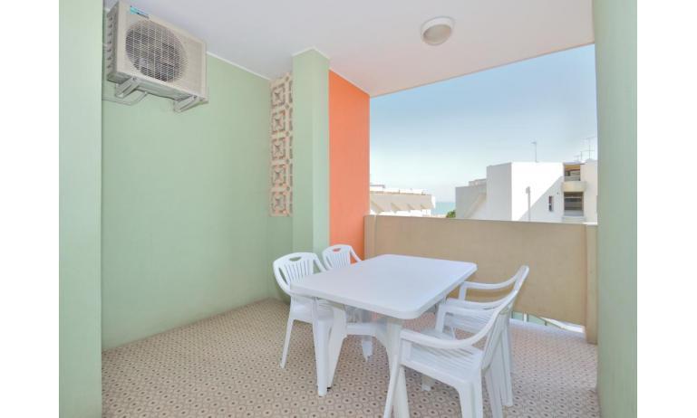 appartamenti CORMORAN: C6 - balcone (esempio)