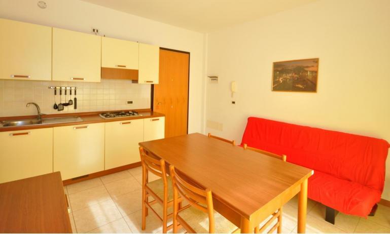 appartamenti MILLENIUM: B5 - angolo cottura (esempio)