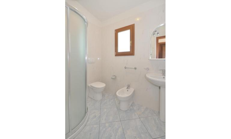 appartamenti DELFINO: C6 - bagno con box doccia (esempio)