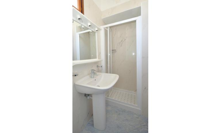 appartamenti DELFINO: C5V - bagno con box doccia (esempio)