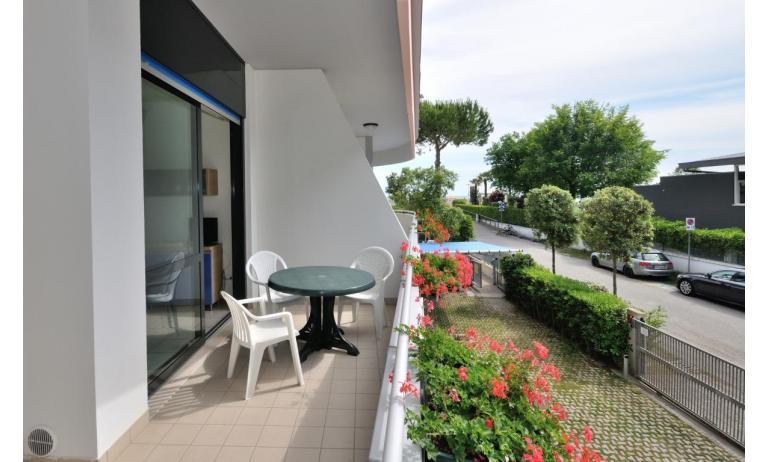 residence LUXOR: B5+ - balcone (esempio)