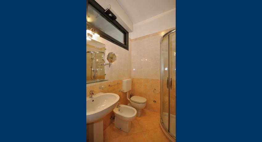 B5+ - salle de bain avec cabine de douche (exemple)