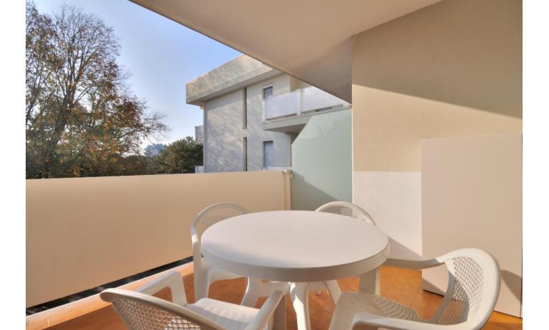 Residence SPORTING: C6+ - Balkon (Beispiel)