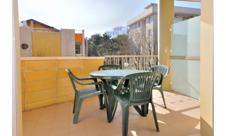 Residence LIDO DEL SOLE 1: B5 - Balkon (Beispiel)