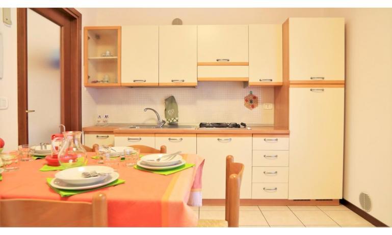 residence LEOPARDI-GEMINI: B5/0 - kitchenette (example)
