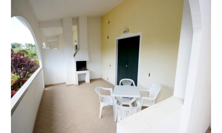 residence LEOPARDI-GEMINI: B5/1 - balcony (example)