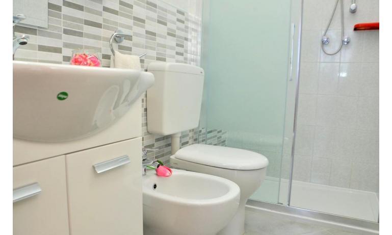 appartament BILOBA: C6/1 - salle de bain avec cabine de douche (exemple)