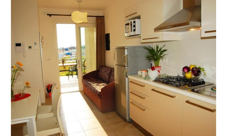 residence EVANIKE: B4 - zona giorno