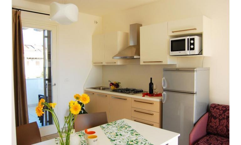Residence EVANIKE: C6 - Kochnische (Beispiel)