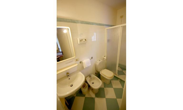 hotel ALEMAGNA: Matrimoniale - bagno con box doccia (esempio)
