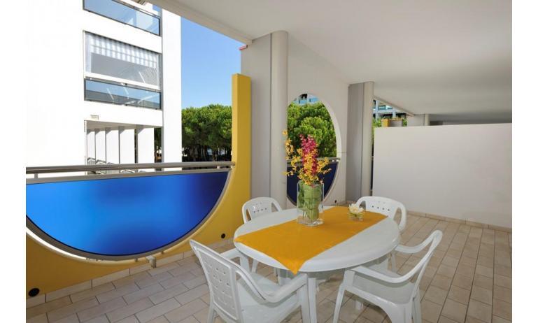 aparthotel ASHANTI: B4 Nord - balcone (esempio)