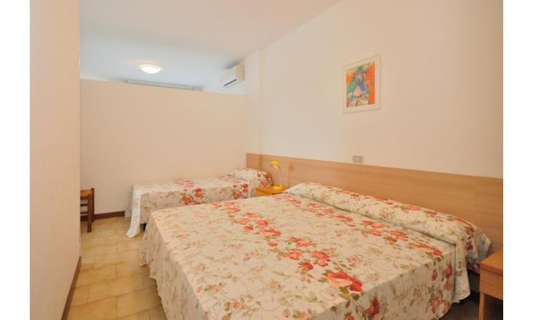 appartamenti MONACO: B7 - nicchia con letto (esempio)