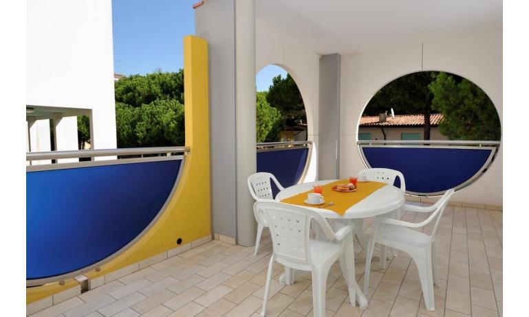 aparthotel ASHANTI: C5 Nord - balcone (esempio)