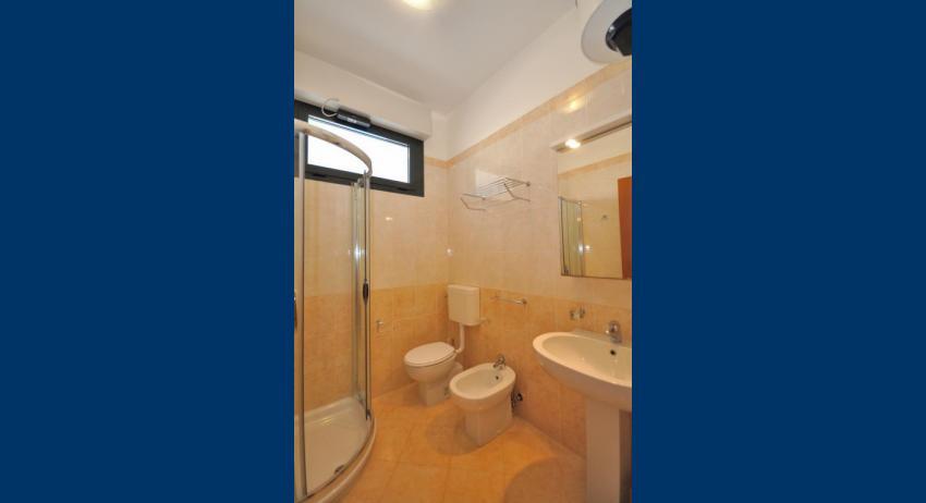 C6+ - salle de bain avec cabine de douche (exemple)