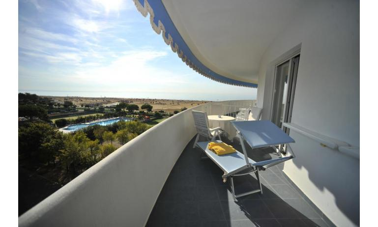 hotel CORALLO: Junior suite - balcone vista mare (esempio)