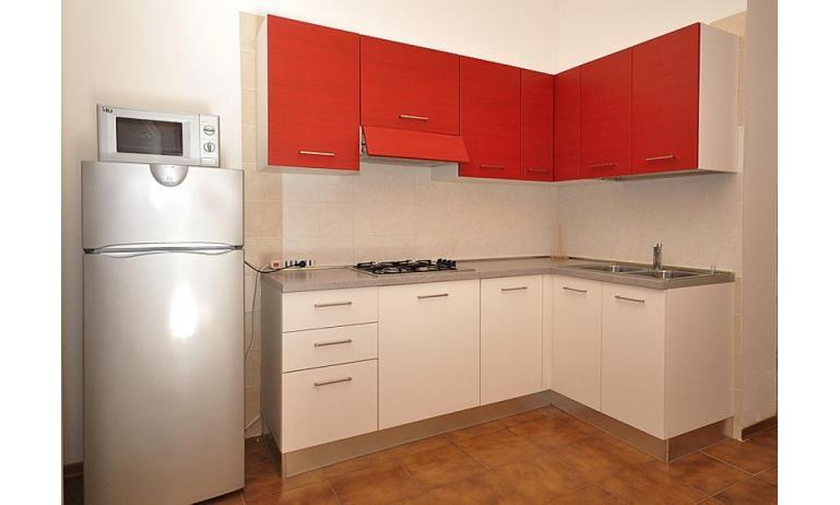 appartamenti ATOLLO: A4 - angolo cottura (esempio)