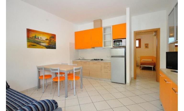 résidence VALBELLA: B5+ - coin cuisine (exemple)