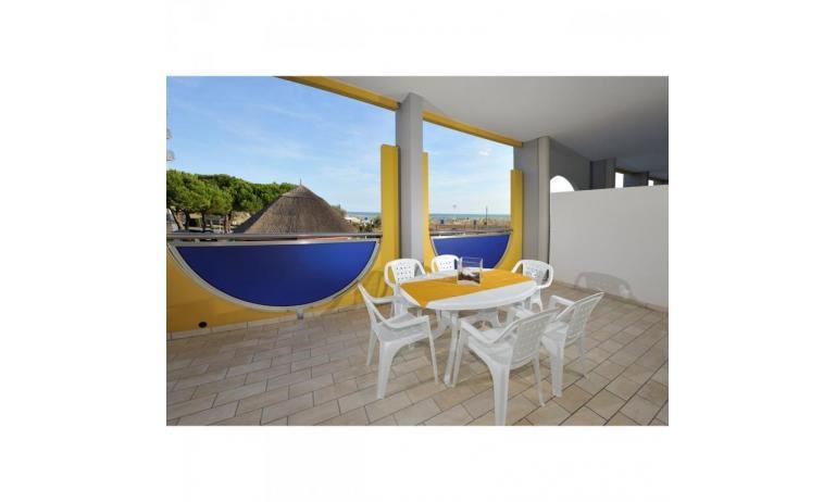 aparthotel ASHANTI: B4 Beach - balcone vista mare (esempio)